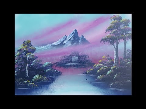 Spray paint art – Nature – made by street artist *time lapse*
