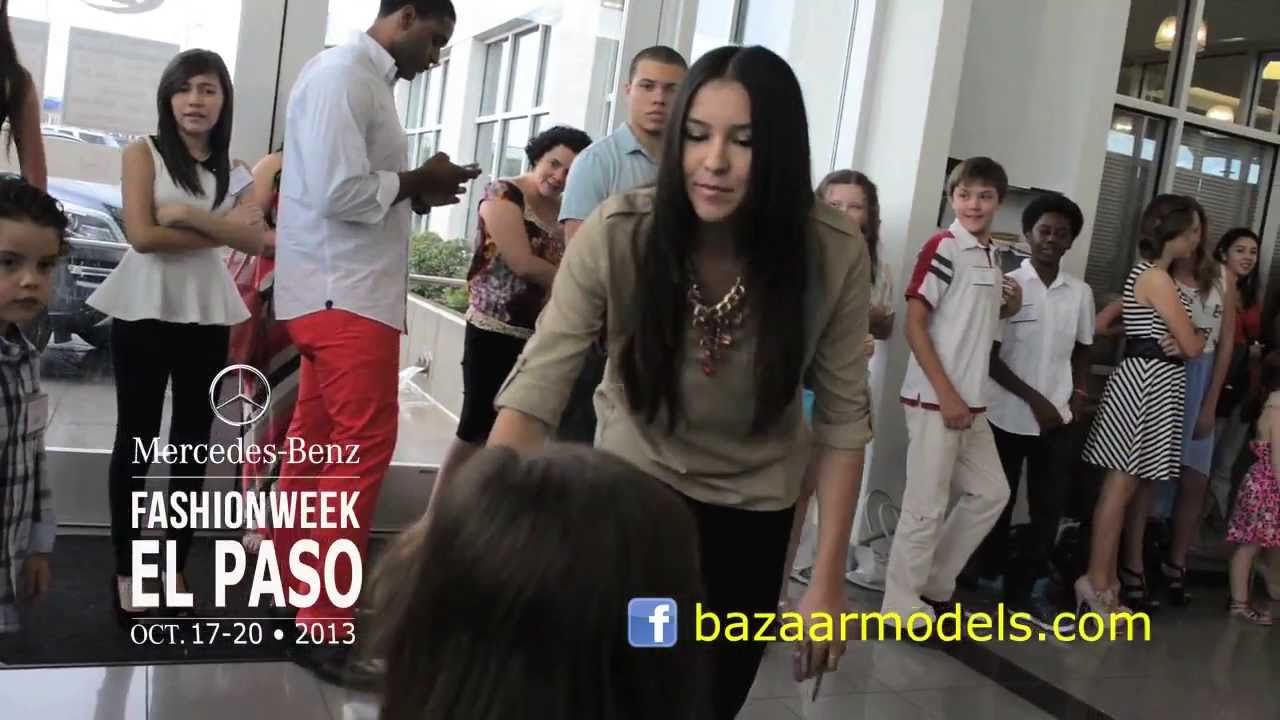 Mercedes Benz El Paso Fashion Week 2013 U2022 Final Casting