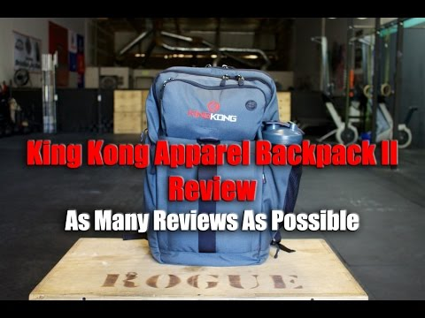 4d3ada141df5 King Kong Apparel Backpack II Review - Best Gym Bags - YouTube