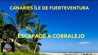 Espagne les Canaries ile de Fuerteventura les paysages de Corralejo