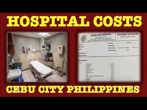 Philippines Hospital Costs- ER Admission, X-Ray, CT Scan, Ultrasound, Lab &  More ✅