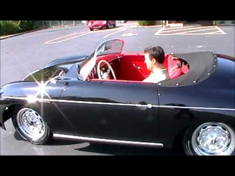 1957 porsche 356 carrera speedster replica youtube. Black Bedroom Furniture Sets. Home Design Ideas