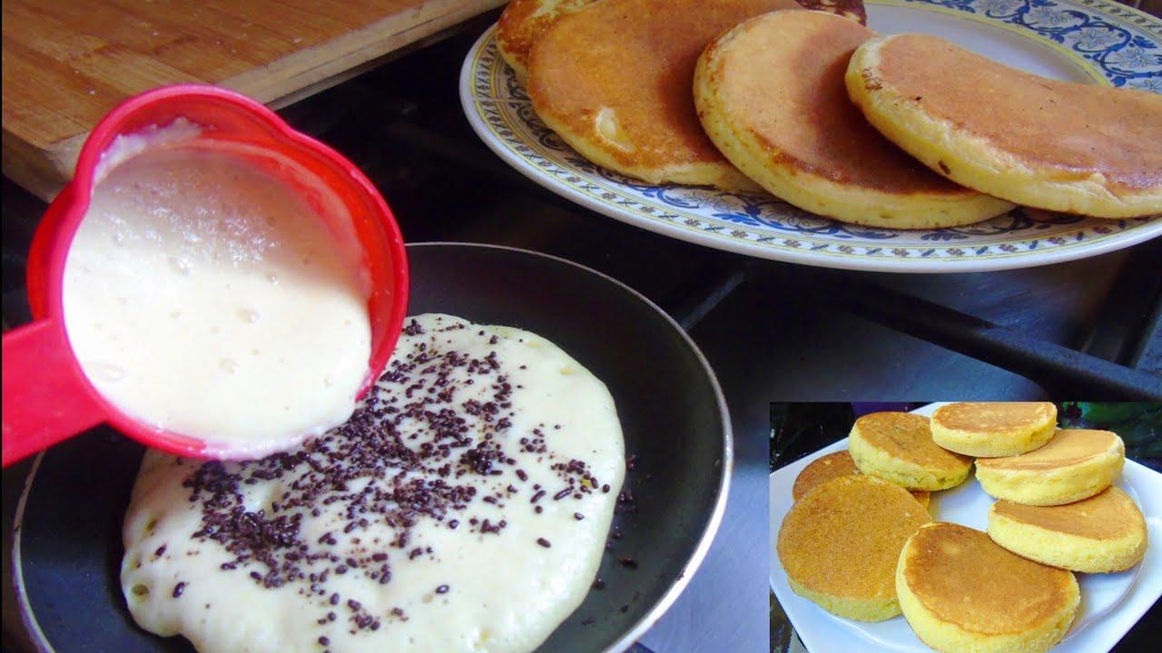 اروع واسرع فطائر المقلاة بدون خميرة الحلويات لفطور الصباح خفاف ومسفنجين اسهل منهم ماكاين