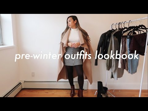 [VIDEO] - PRE-WINTER OUTFITS LOOKBOOK | warm outfit ideas 2