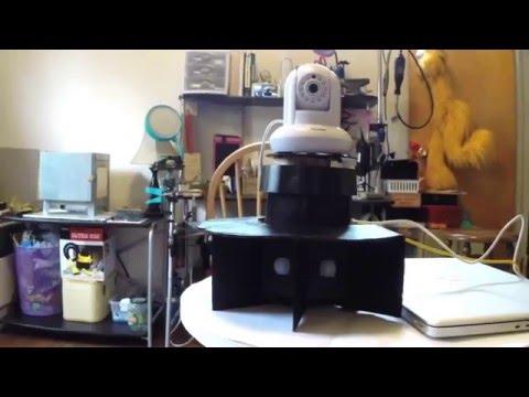 Motion Following Motorized Camera Base