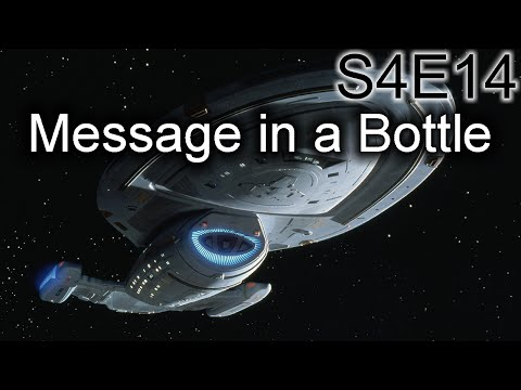 Star Trek Voyager Ruminations S4E14: Message In A Bottle