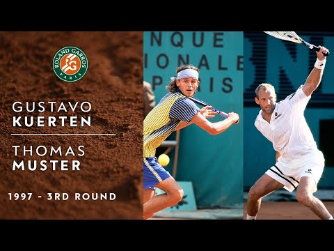 [Full Match] French Open 1997 3R - Thomas Muster vs Gustavo Kuerten. Guga announces his arrival!