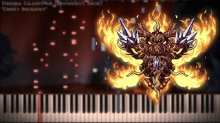 "Terraria Calamity - ""Unholy Insurgency"" Piano Tutorial"
