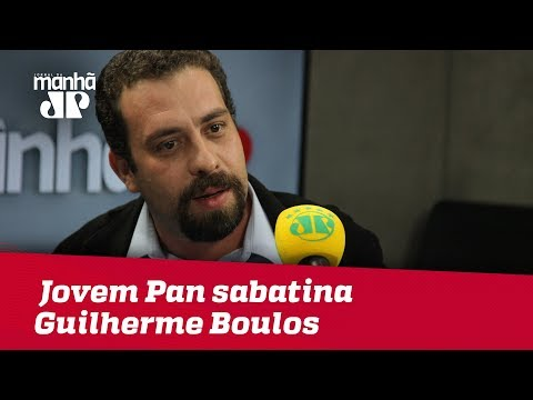 Eleições 2018 - Jovem Pan sabatina Guilherme Boulos