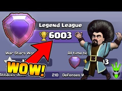 Hitting 6,000 Trophies! - High Level Pushing! - Clash of Clans - Push to 6k Trophies