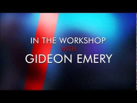 In the Workshop with Gideon Emery A Koobismo.com