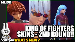 KING OF FIGHTERS SKILL EFFECTS - DYRROTH, GUSION, AND AURORA - MOBILE LEGENDS WHAT'S NEW? VOL. 44