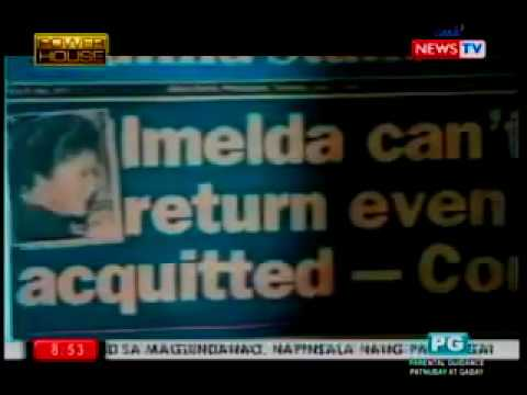 Marcos Gold - Mel Tiangco Interview with Imelda