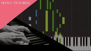Florian Bur - My World (Official PIANO - TUTORIAL)