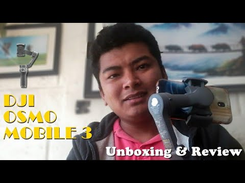 DJI Osmo Mobile 3 Combo Pack Tutorial in Nepali || Review