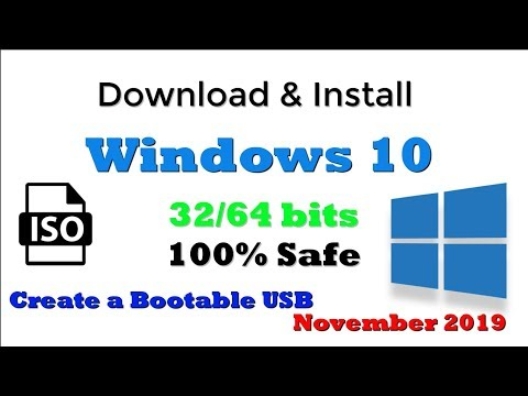 Download & Install Windows 10 | November 2019 Update | 1909 | ISO File