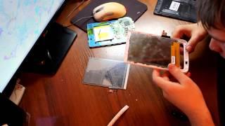 Ремонт, замена дисплея на PocketBook 626