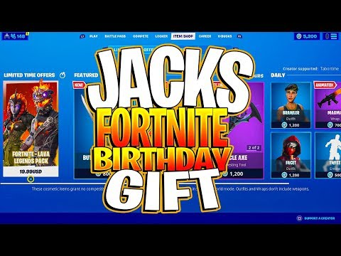 I Told My Son I Would Buy Him The ENTIRE Item Shop For His Birthday...