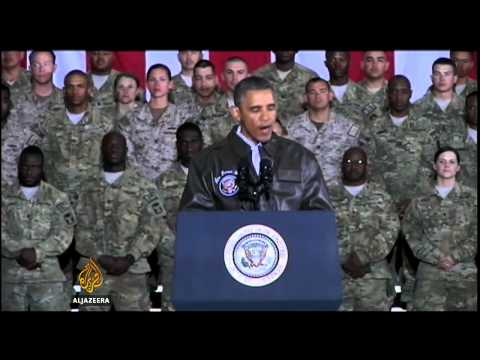 Obama pays surprise visit to Afghanistan