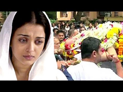 Aishwarya Rai Bachchan's Father's FUNERAL | Full Video