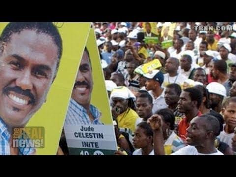 Haitians Demand New Elections
