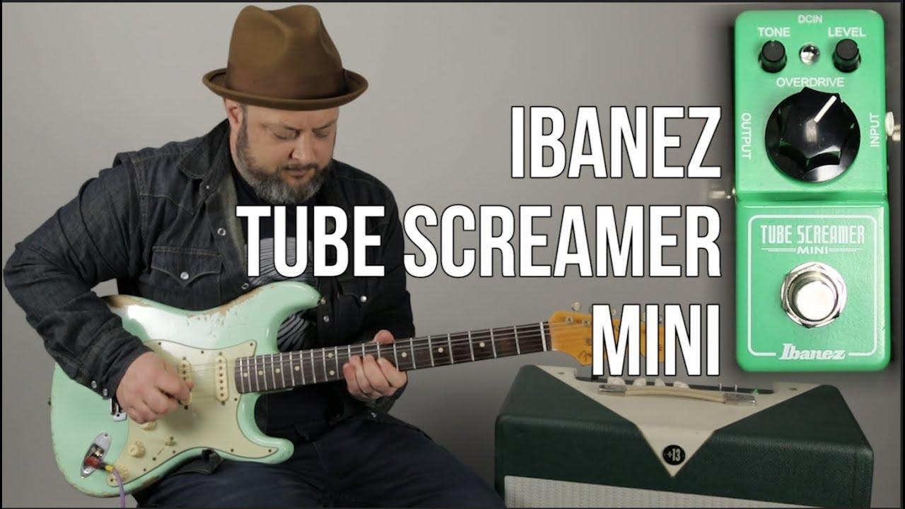 Ibanez Tube Screamer Mini Demo