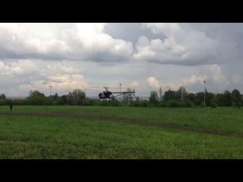 Top End Rc Helicopter first flight Novosibirsk