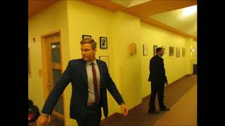 New Brunswick Provincial Political Leaders walks in for CTV Election Roundtable debate!!!