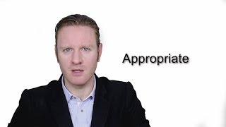 Appropriate - Meaning | Pronunciation || Word Wor(l)d - Audio Video Dictionary