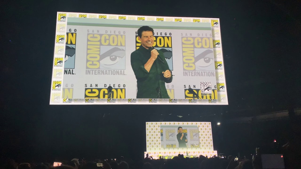 Tom Cruise surprises Comic-Con with first footage from Top Gun 2