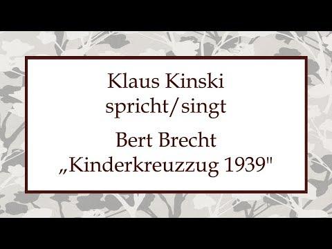 """Bert Brecht """"Kinderkreuzzug 1939"""" (1942)"""
