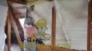 Чем и как советуют произвести утепление крыши мансарды в доме(http://www.kucherenkoff.ru/uteplenie-mansardy/ Утепление пенополиуретаном ,Бесшовная теплоизоляция стен изнутри и снаружи,..., 2014-01-09T21:03:33.000Z)