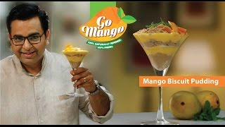 Mango Biscuit Pudding #GoMango