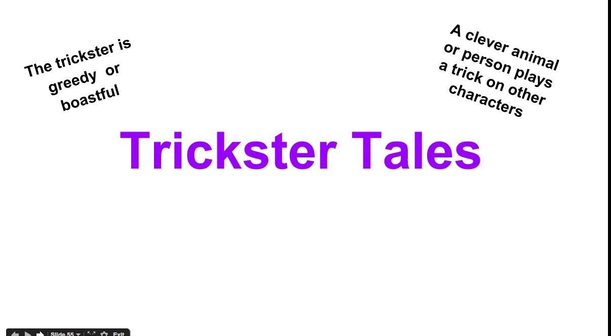 FOLKTALES Trickster Tales - YouTube