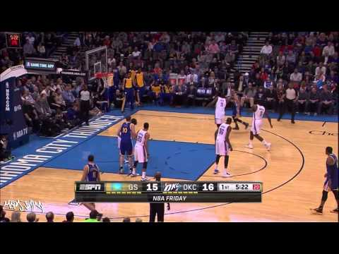 Klay Thompson All 3 pointers season 2013 - 2014