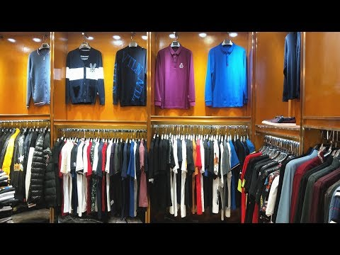 Designer Brands Clothes Supplier In China Clothes Vendor Guangzhou Branded Clothing Market