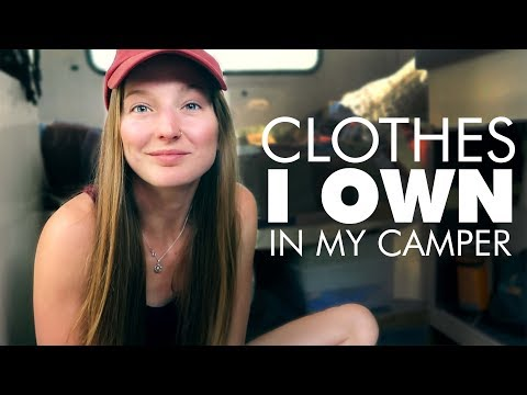 clothes-i-own-in-my-13ft-trailer