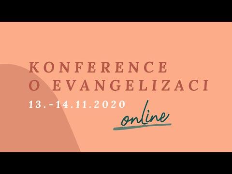 Konference o evangelizaci 2020 ONLINE - pozvánka