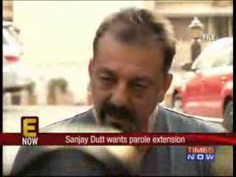 Sanjay Dutt wants parole extension