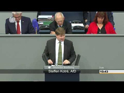 Steffen Kotre (AfD) spricht Klartext zur Energiepolitik. Der.Schreihals ist SPD Politiker.09.05.2019