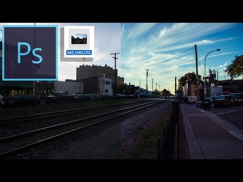 How to Edit RAW Pictures in Photoshop Camera Raw ( Tutorial )