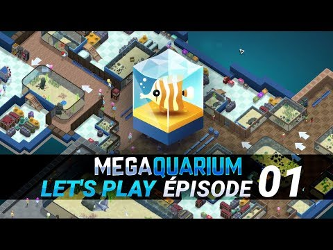 [FR] Megaquarium, par le créateur de Big Pharma - gameplay ép. 1 du let's play