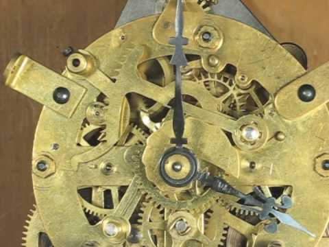 Striking Mechanism Of Ansonia Round Mantel Clock Movement