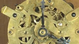 Striking Mechanism Of Ansonia Round Mantel Clock Movement