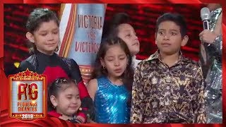 ¡Victoria y sus victoriosos son el escuadrón eliminado! | Pequeños Gigantes 2019