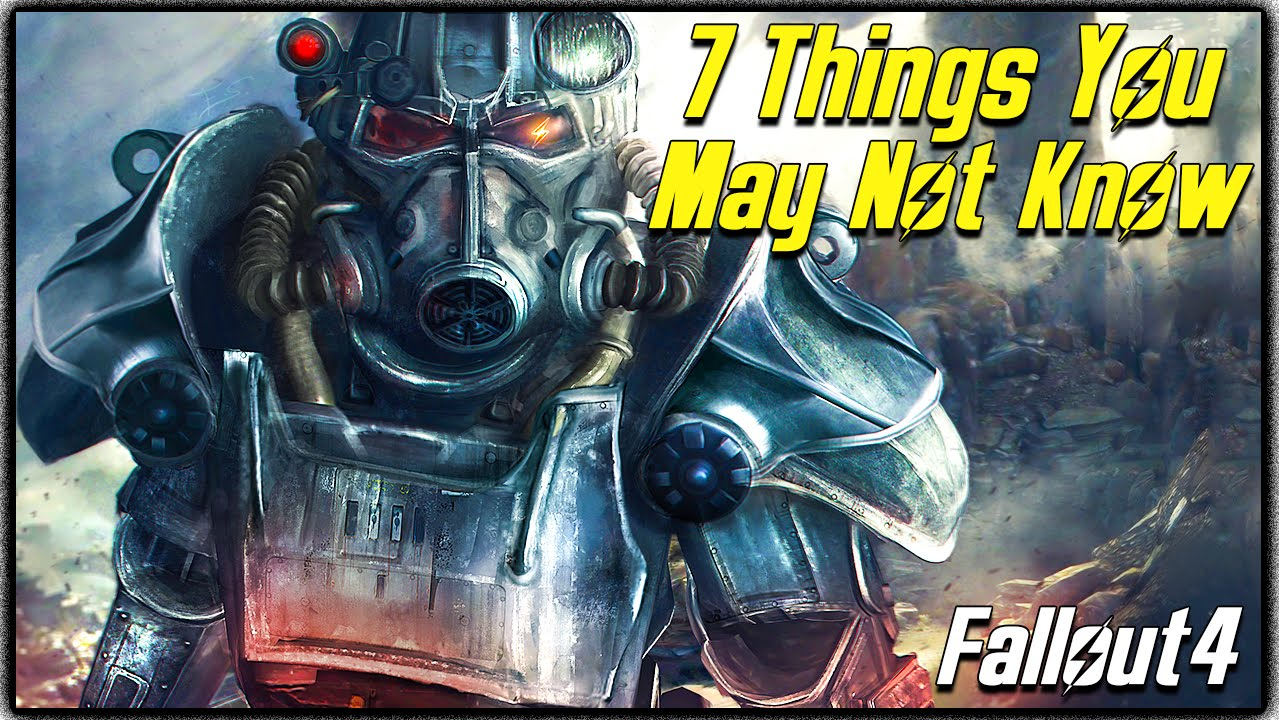 7 Things You May Not Know About Fallout 4 (Secret Featu ...