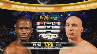 EFC 19: Pena vs Nel (One of the best comeback in EFC history...)