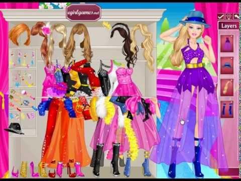 Барби игра одевалка на выпускной