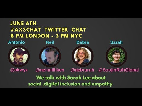 AXSChat with Sarah Lee. Disability Inclusion Strategist and Disability Advocate