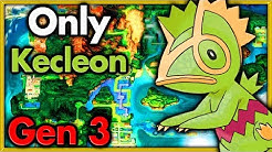 Can I Beat Pokemon Emerald with ONLY One Kecleon? 🔴 Pokemon Challenges ► NO ITEMS IN BATTLE